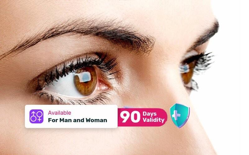 1x Eye Bag & Dark Eye Circle Treatment (Ultra-therapy machine 1x10(⁶)Hz)