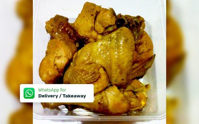 1 Box Ayam Ungkep Bumbu Bacem (Siap Goreng / Bakar) + Sambal - Delivery & Take Away