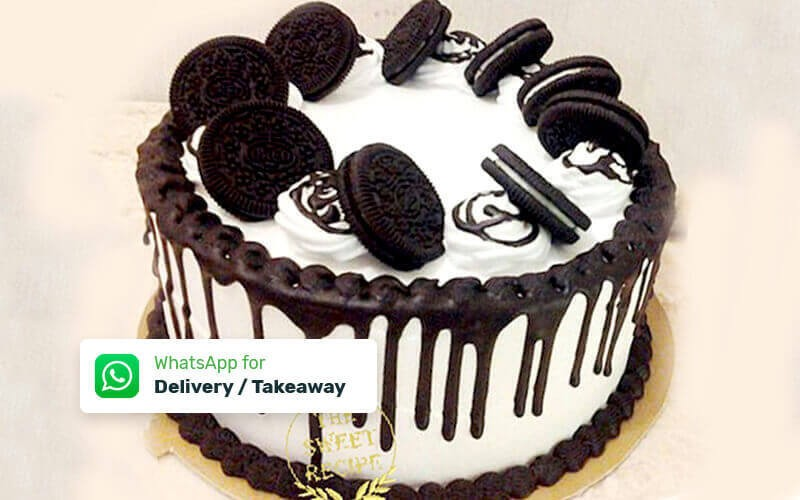 1 Whole Round Cake (Diameter 18cm) - Delivery & Take Away