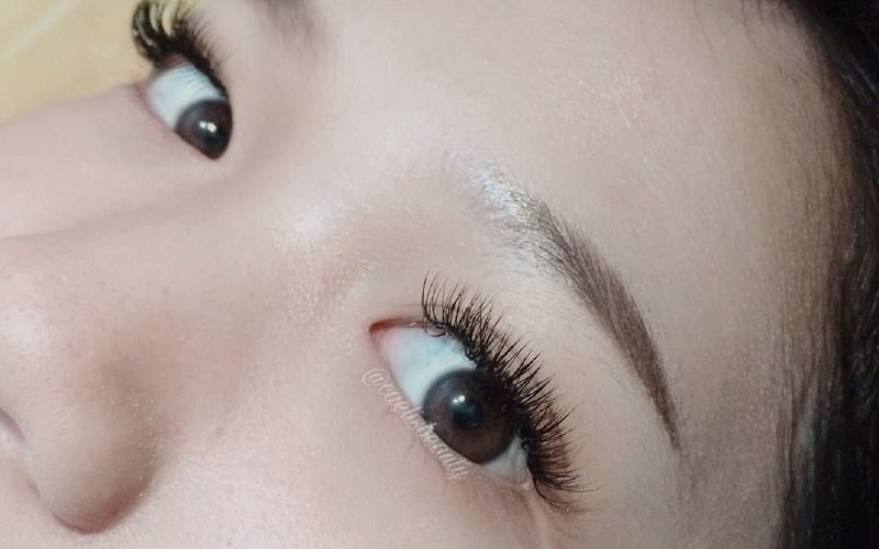 1x Eyelash Extension Double Volume