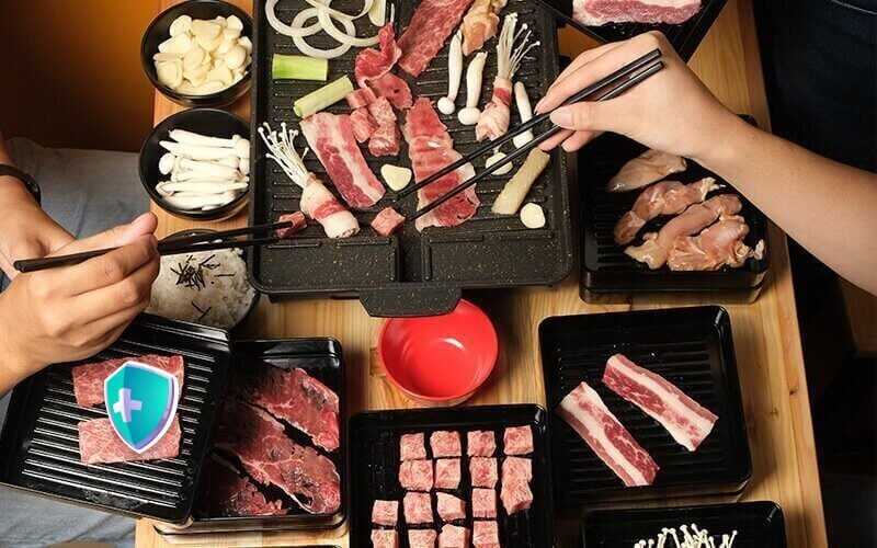 All You Can Eat Korean BBQ Premium For 1 Person