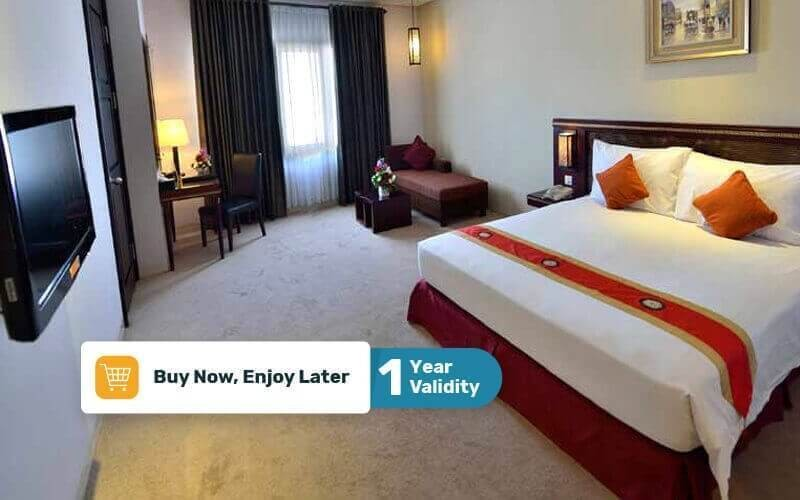 Bandung: 2D1N in Deluxe Room (Room Only)