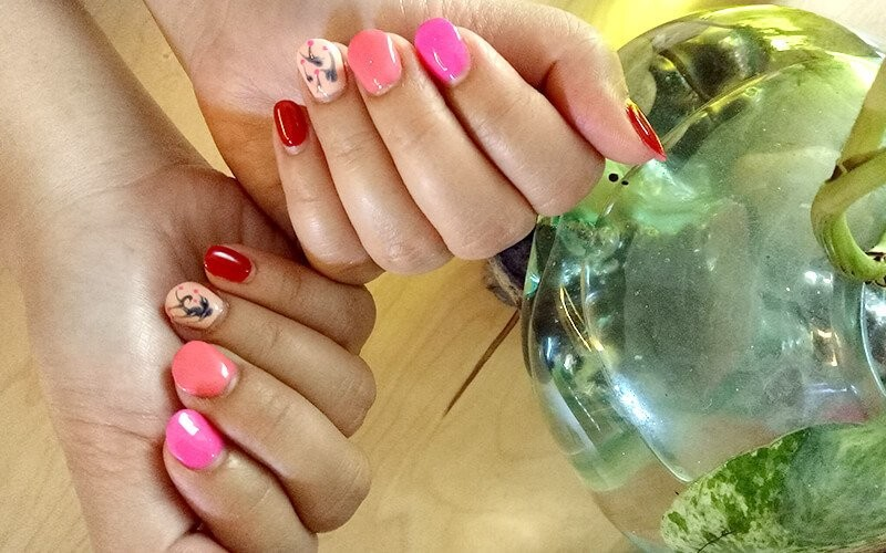 Wedding Service on Nails Extension - Available for Home Service