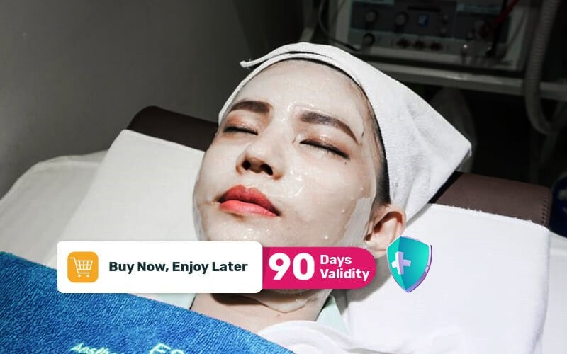 1x Water Radiance Facial + Consultation + Dermatics Brightening Ampoule