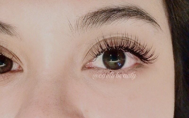1x Eyelash Extension Natural Single