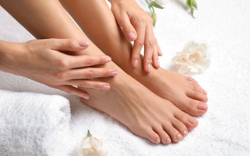 1x Sugar Wax Top of Feet & Toes