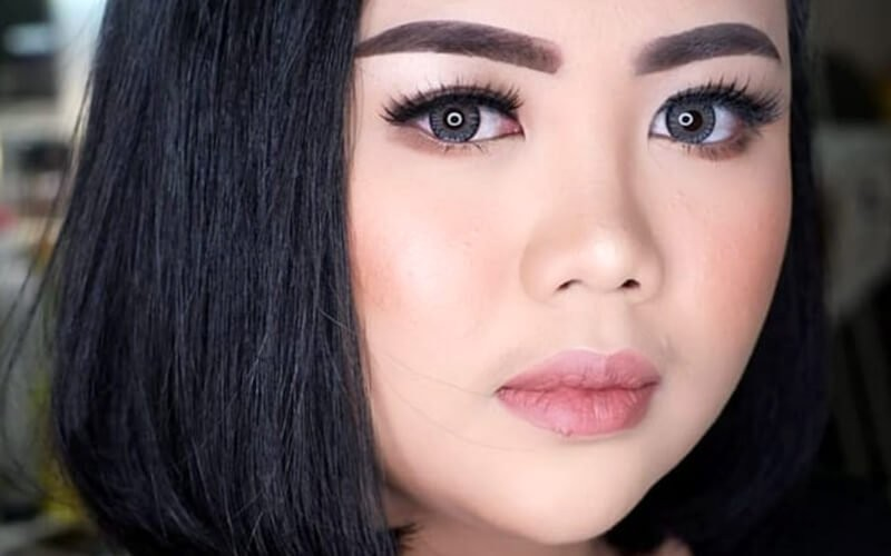 1x Makeup Korean Look / Barbie Look + Hair Do Simple for Graduation / Party (By Owner)