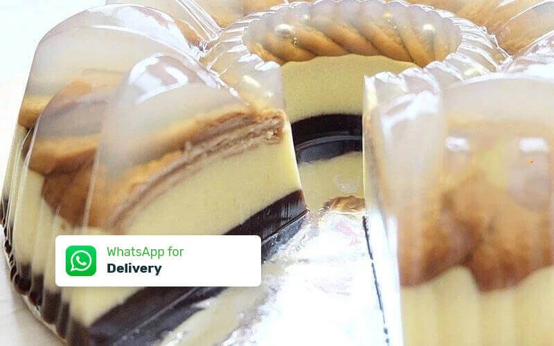 1 Loyang Pudding Regal / Pudding Choco Brownies (22 Cm) - Delivery