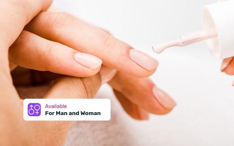 1x Manicure + Nail Polish / Buffer for Hand