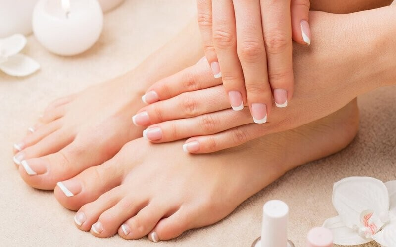 1x Basic Manicure / Pedicure + Polygel / Nail Extension - Available for Home Service