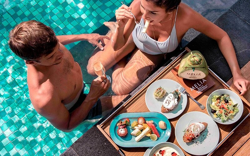 Cabana Day Pass Pool Package for 4 Persons