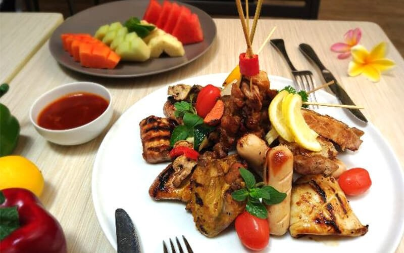 Mixed Barbeque Platter