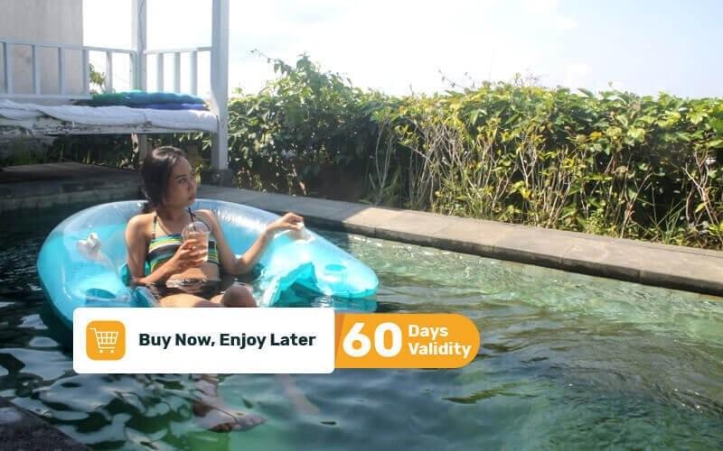 1x Day Rent Medium Floaties + Free Security Deposit