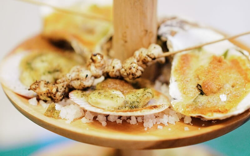 [Wednesday] Grilled Seafood Tower for 2 Person - Dine in