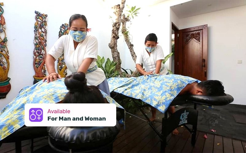 1x Hot Stone Massage 120 Minutes with Amen VCO Oil - Available for Home Spa Service (With Portable Bed)
