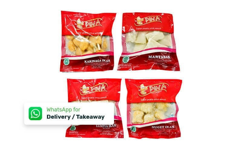 Paket Sultan 4 Frozen Food Olahan Ikan  + Free 2 Yoghurt Low Fat  Cimory 250 ml All Varian - Free Delivery