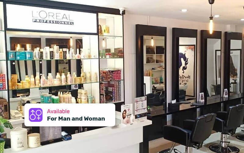 1x Hair Wash & Hair Spa by Loreal + Blow Dry + Back Massage