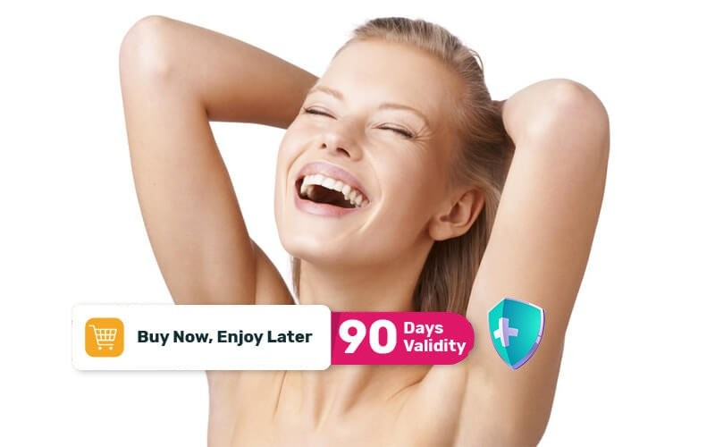 [Available by Appointment] 1x IPL Hair Removal for Underarm