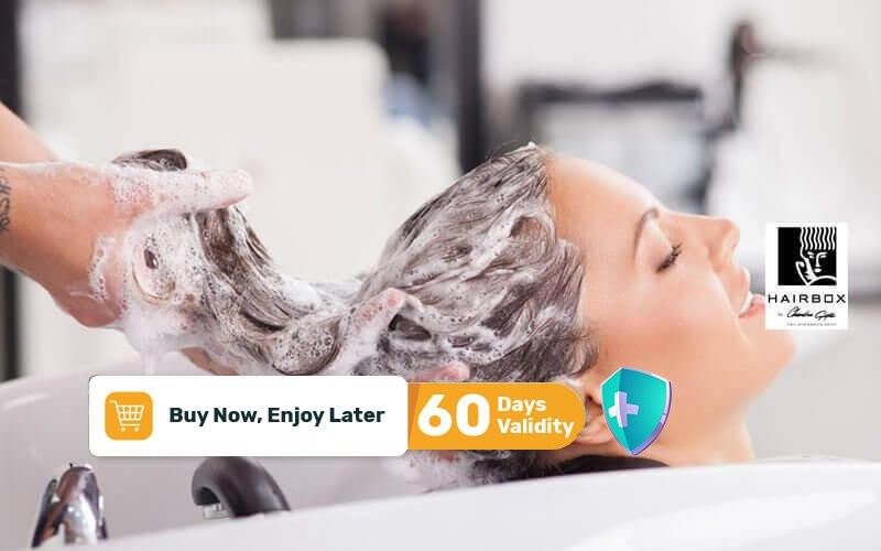 1x Hair Spa + Manicure + Pedicure + Blow Style Product by L'oreal