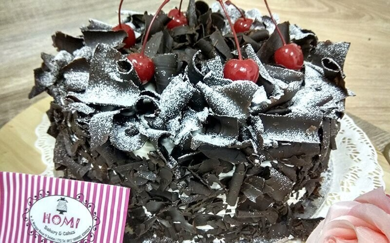 Black Forest Cake (Whole Size 20 Cm)