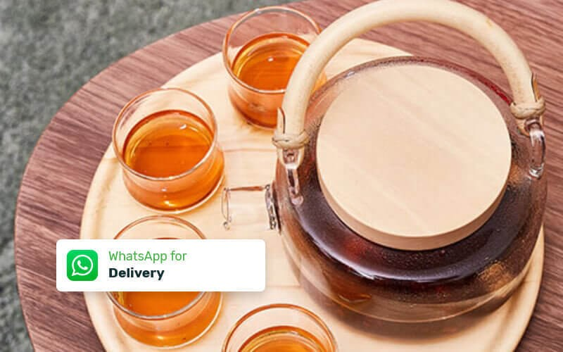 Rota Teaset with 4 Cups - Delivery