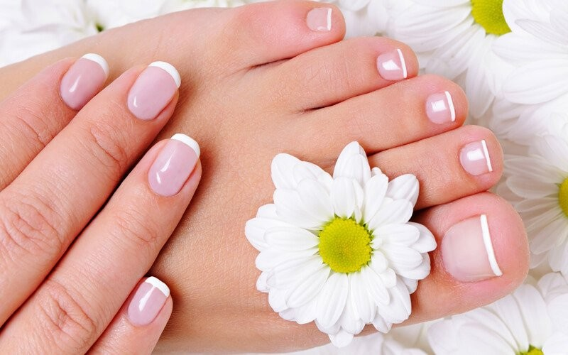 1x Full Manicure / Full Pedicure + Nail Polished - Available for Home Service