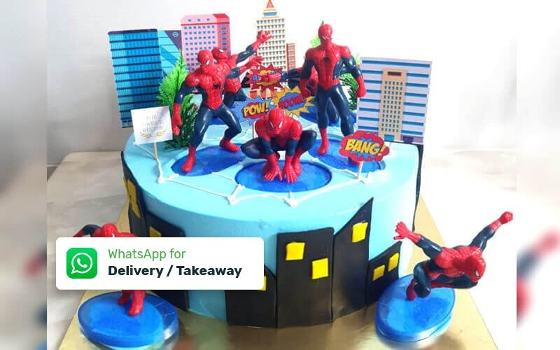 1 Whole Round Character Cake 24cm - Delivery