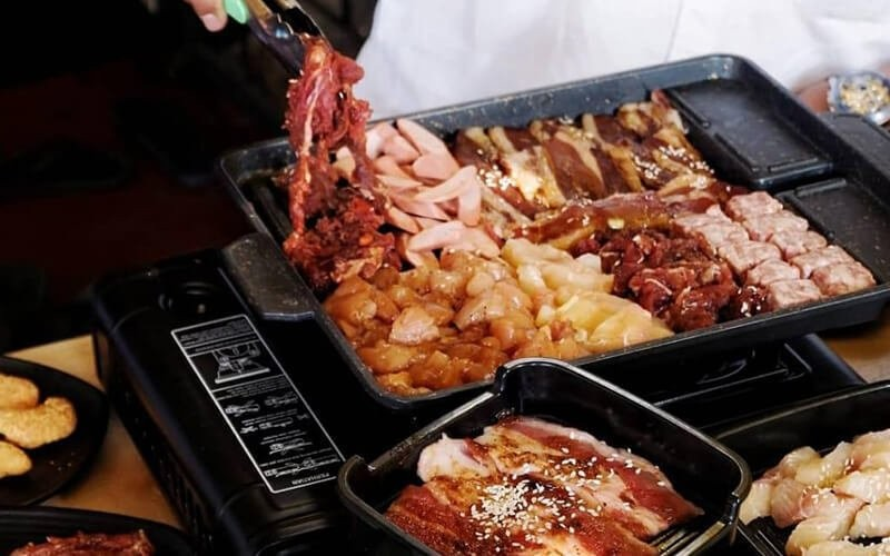 All You Can Eat Platinum Korean BBQ untuk 1 Orang