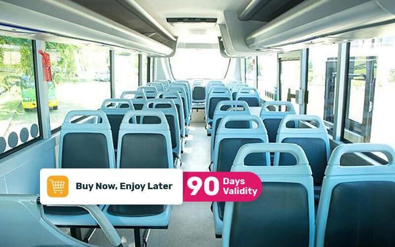 7 Day Pass Kura-Kura Bus