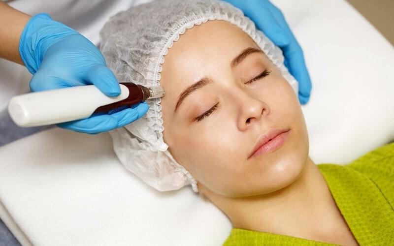 1x Dermapen + Scar Treatment + Glowing Serum + Face Masker
