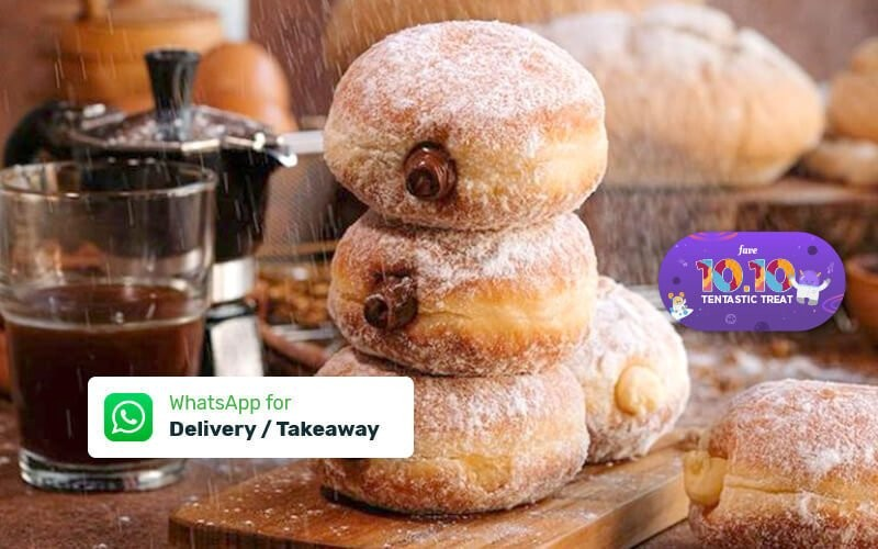6 Pcs Bomboloni - Dine In, Delivery & Take Away