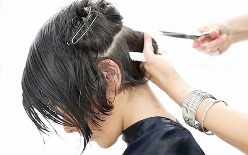Hair Cut + Wash + Blow Dry