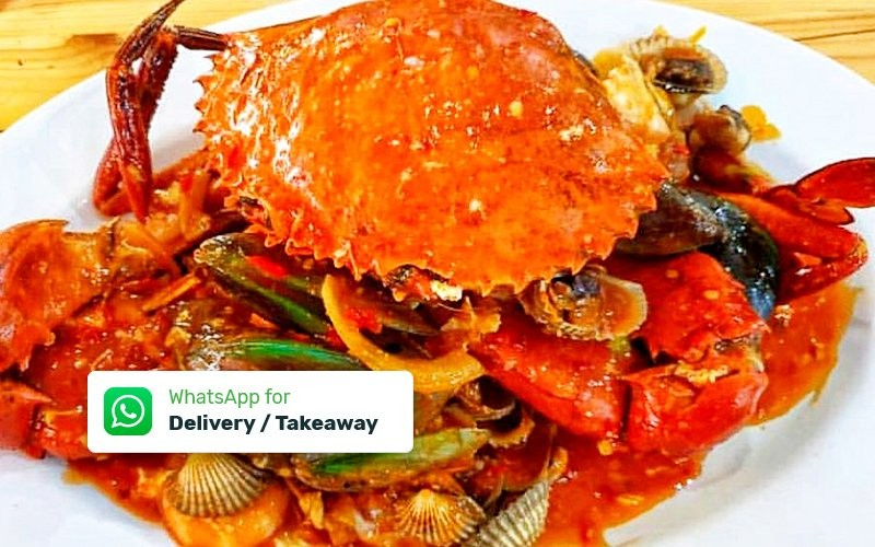Paket Kepiting Viral for 2 Person - Dine in, Delivery & Take Away