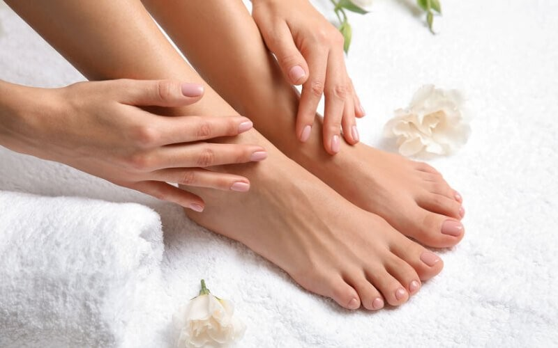 1x Spa Pedicure + Manicure + Nail Polish + Vitamin - Available for Home Service