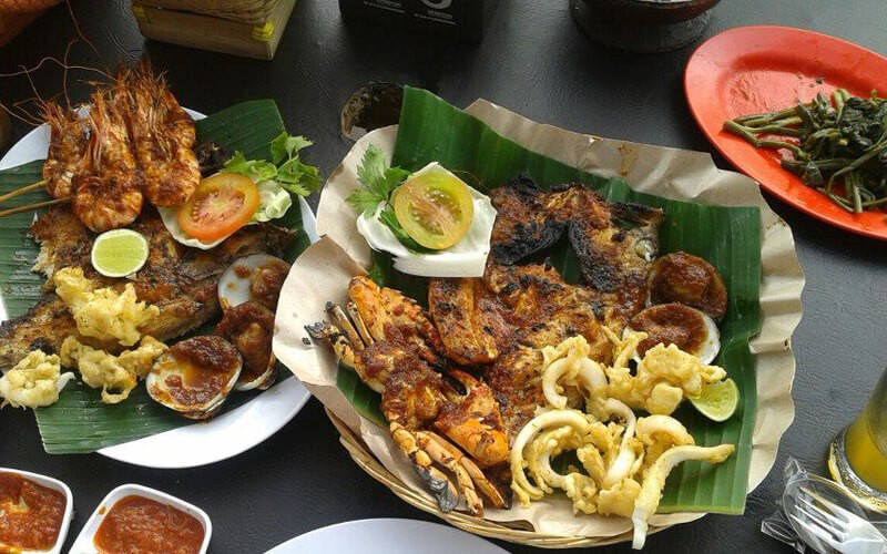 Paket Makan Menu Grilled Fish