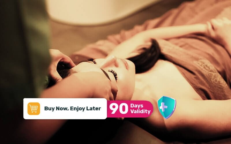 [Available by Appointment] 1x Aromatherapy Relaxing Massage + Body Scrub + Body Mask + Jacuzy with salt + V Ratus