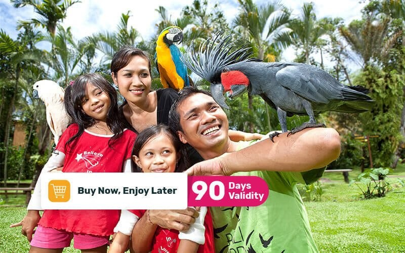 Entry Ticket to Bali Bird Park For 1 Child
