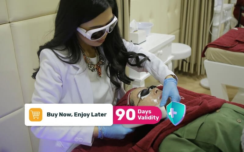 [Bandung] 1x Laser IPL for Glowing / Acne + Cek Kulit + Konsultasi Dokter - Available by Appointment and Home Service