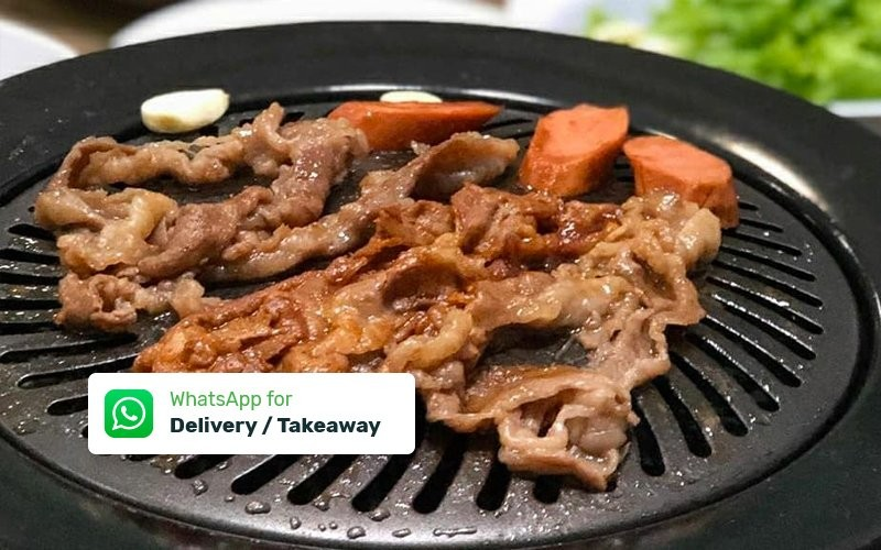 Paket BBQ Makan di Rumah untuk 3 - 4 Orang - Delivery & Take away