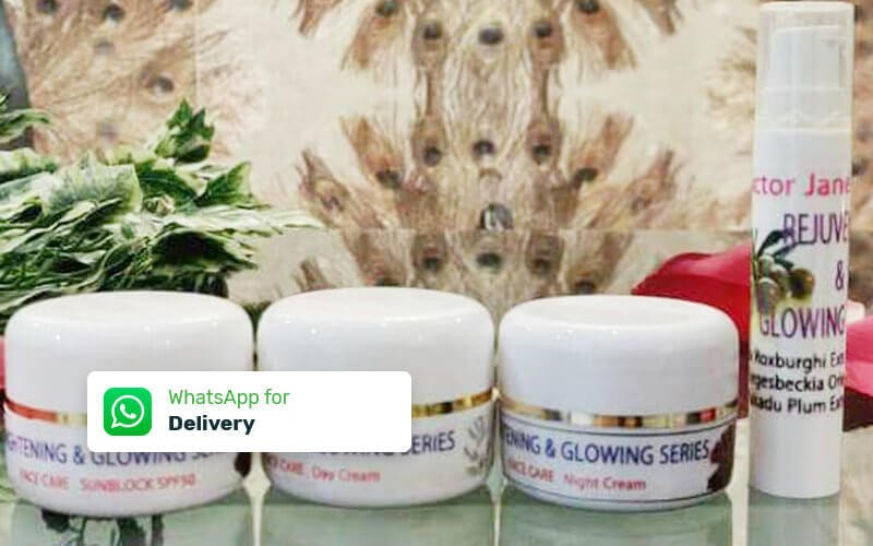 Morning Cream Glowing + Night Cream Glowing + Serum Glowing + Sunblock + 1x Nano O2 Misting & PDT Mask Treatment - Delivery