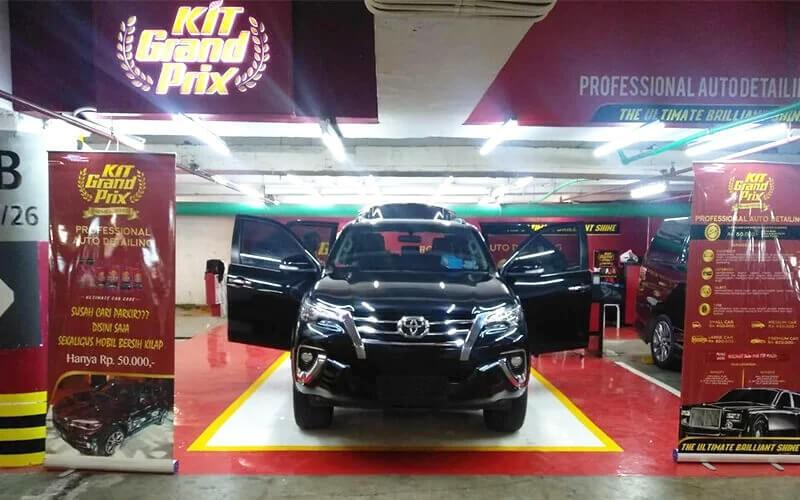 1x Professional Auto Detailing (Mobil Sedang)