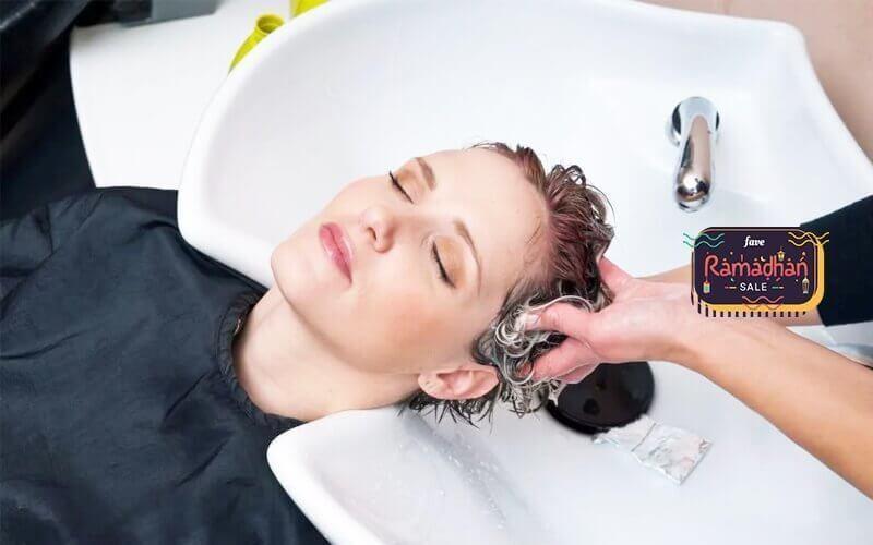 1x Creambath + Hair Cut + Back Massage + Hair Vitamin + Hair Wash & Blow Dry