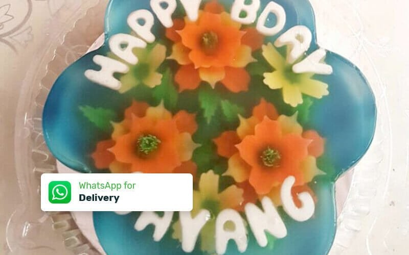 Paket 1 Loyang Jelly Art Pudding (20 Cm) - Delivery
