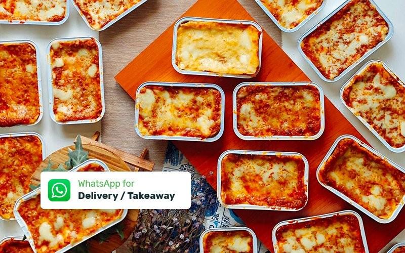 Paket Macaroni & Lasagna Personal - Delivery & Take Away