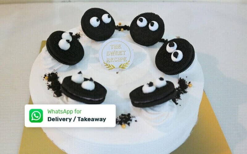 1 Whole Round Cake (20 Cm) - Delivery & Take Away