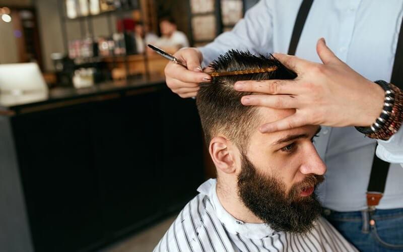 1x Hair Cut Men + Shaving Package