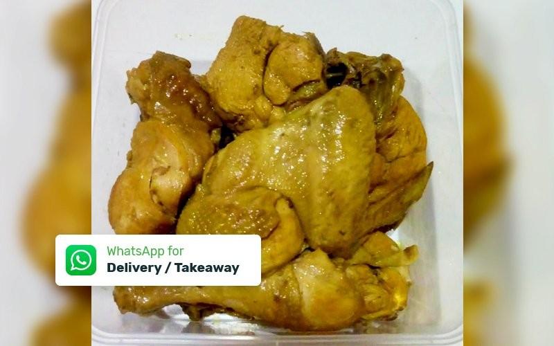 1 Box Ayam Ungkep Kalasan (Siap Goreng / Bakar) + Sambal - Delivery & Take Away