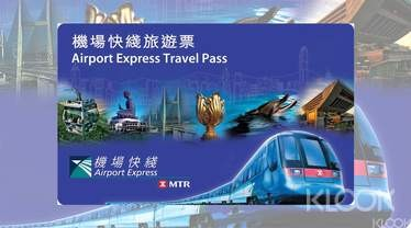 Hong Kong Airport Express  72-hour Unlimited MTR Travel Pass - Background