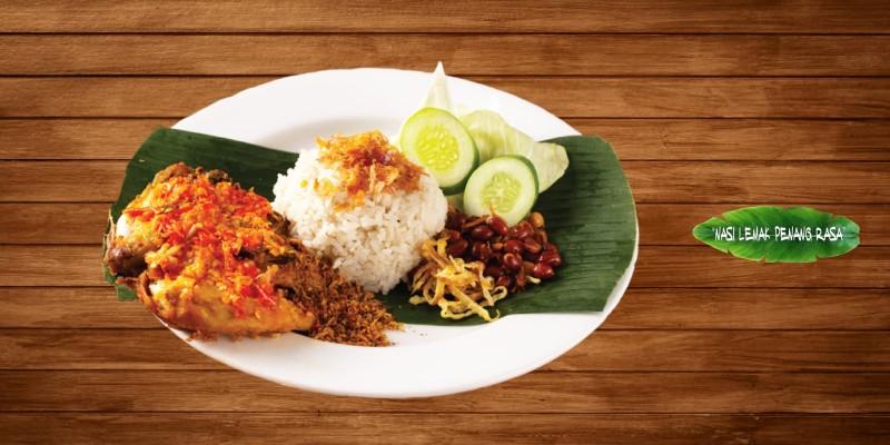 Voucher Nasi Lemak Penang RasaPaket B (5 Nasi Lemak Ayam/Cakalang (Boleh Mix) + 5 Nasi Lemak Telur)