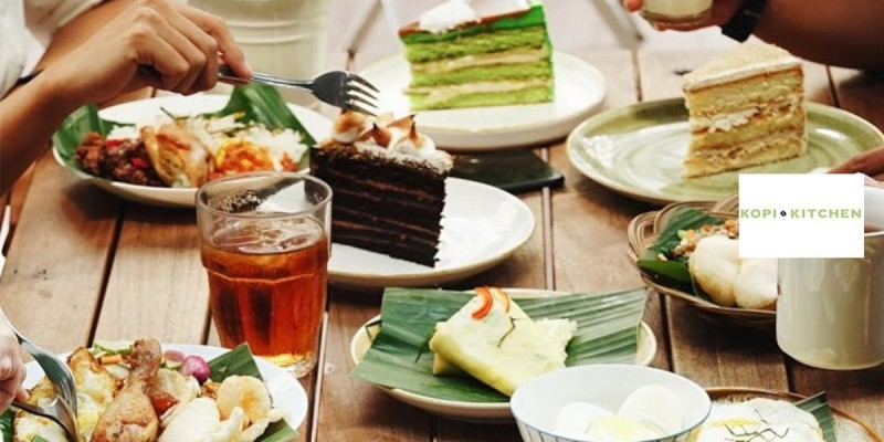 Kopi Kitchen all you can eat breakfast menu for 1 person